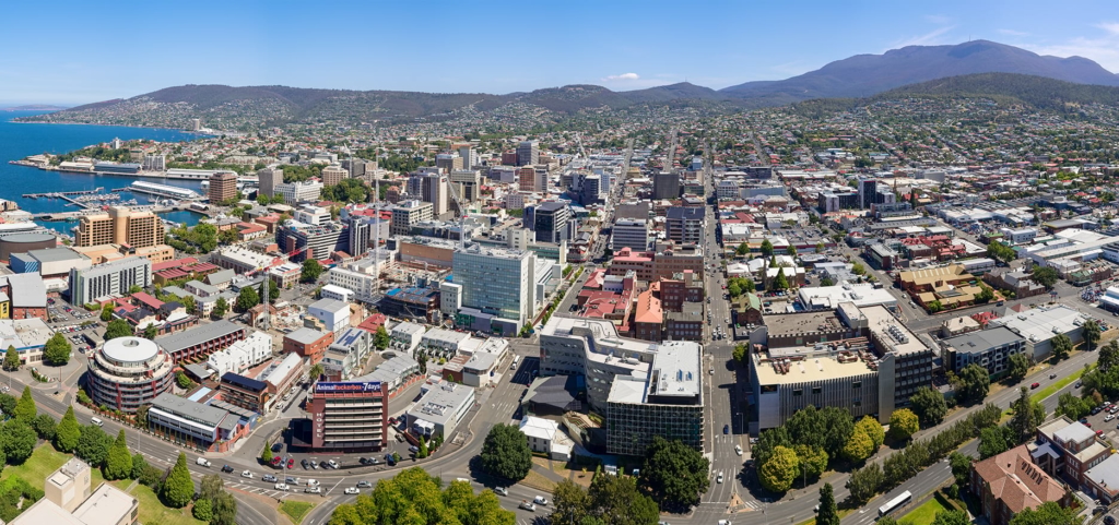 Aerial Hobart